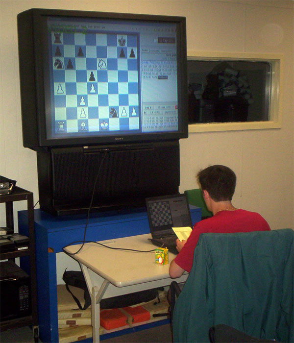 Recording Chess Games with Fritz