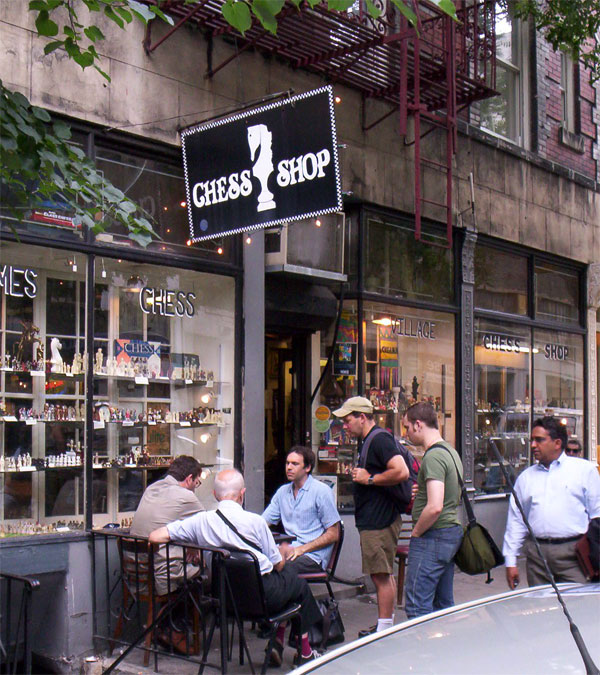The Village Chess Shop, New York