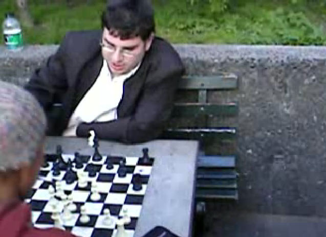 Yaacov Norowitz blitz Washington Square Park